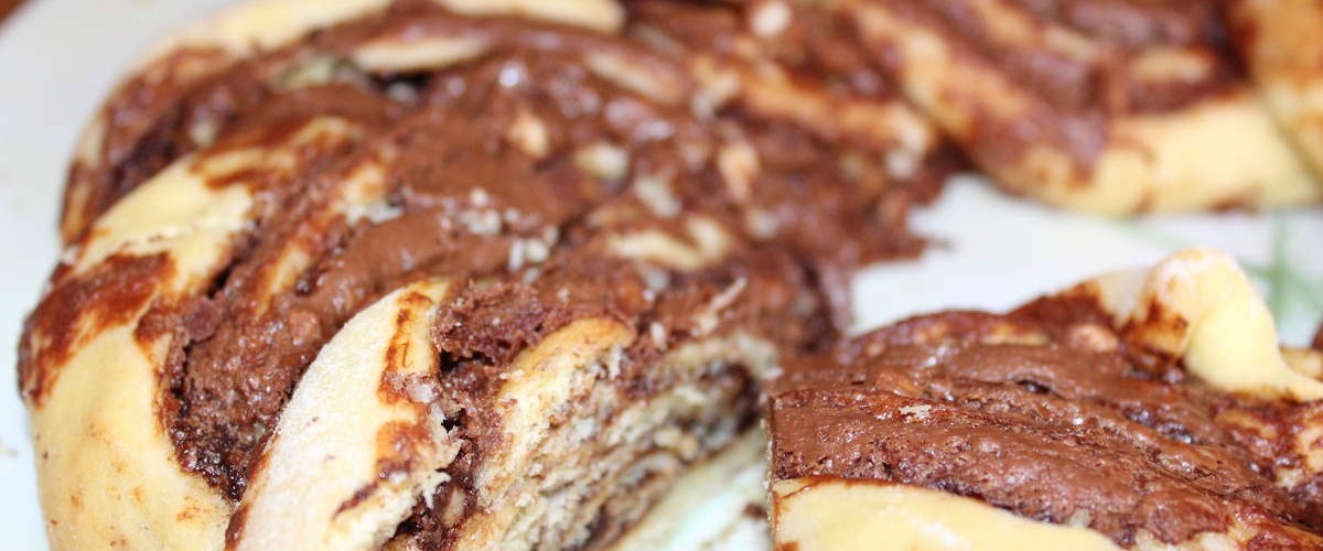 Kringle estonien au Nutella