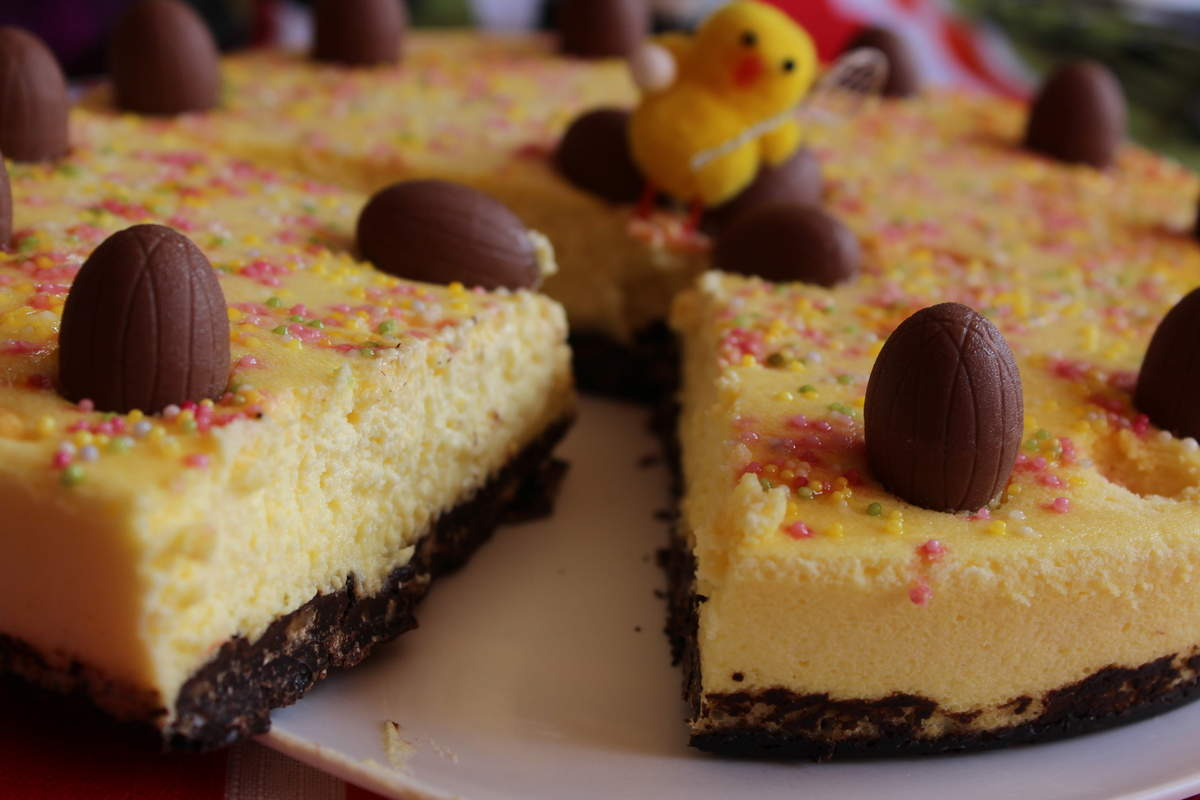 Cheesecake paques
