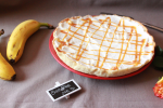 Banoffee pie ~ tarte banane, caramel et chantilly